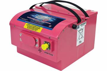 Sealed lead-acid batteries have greater output and require far less maintenance.