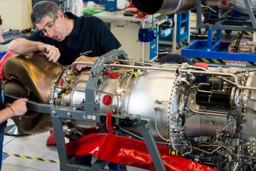 Safran's 2,100-shp Makila 2A1 could soon be unseated as the most powerful in its line. New powerplants in the 2,500- to 3,000-shp range are in the works, based on the previously announced Tech 3000 program.
