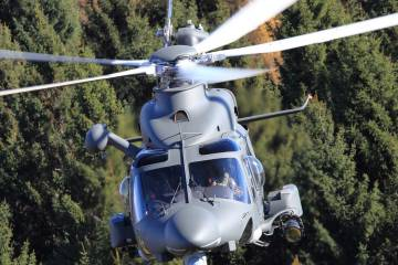AW139 in flight