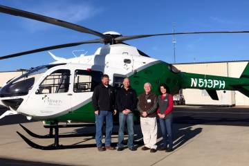 Mountain Area Medical Airlift (MAMA) has tapped Metro Aviation to provide upgrades for its EMS helicopter fleet. In fact, Metro recently completed this Airbus EC135T2+ for MAMA.