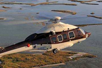EASA has given the okay to Airbus Helicopters for a weight increase and flight into limited icing for its H175 super-medium twin. Approvals for automated rig approaches and a sand filter are pending, according to Airbus.