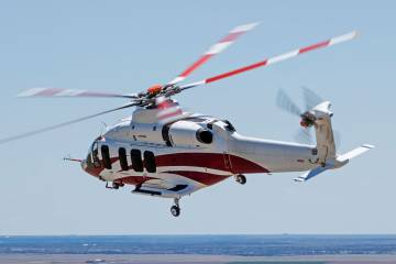 Bell Helicopter hopes to soon resume flight testing of its super medium Bell 525. Flight testing has been halted since the crash of FTV1 last July in Italy, Texas.
