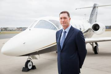 Flexjet Ltd. CEO Ray Jones and Nextant 400XTi