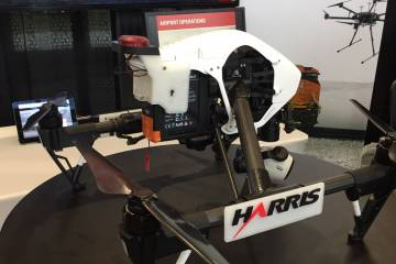 On February 28, Harris Corp. demonstrated ADS-B tracking of a UAS at its Melbourne, Florida, headquarters. The ADS-B out receiver on the UAS is light weight, low-cost and compact, as well as low power. Harris believes ADS-B is the key for safely integrating UASs into U.S. airspace.