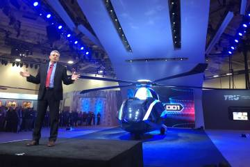 Bell Helicopter's FCX-001 concept helicopter