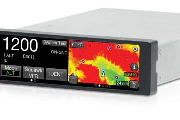 A software update for the Lynx NGT-9000 ADS-B unit enhances situational awareness features.