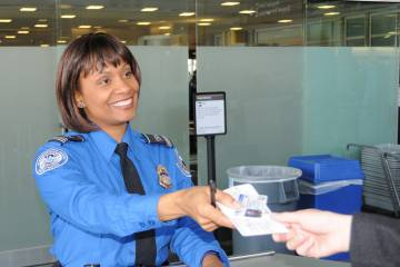 Transportation Security Administration screener