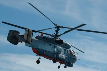 Ka-27PS in flight