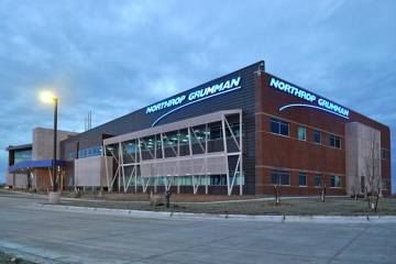 Northrop Grumman facility at Grand Sky business park
