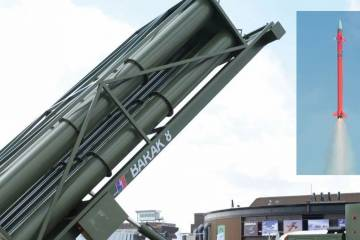 Barak-8 launch and LRSAM