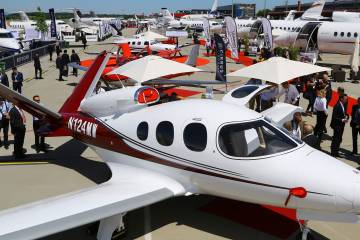 Cirrus Aircraft on static