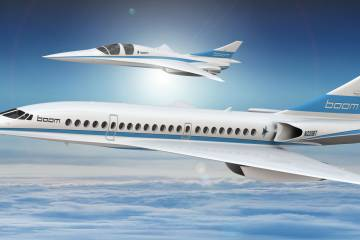 Boom Supersonic's XB-1 demonstrator,