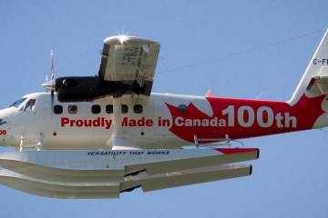 100th Series 400 Twin Otter by Viking.