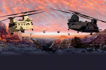 Boeing CH-47F Chinook Block II graphic
