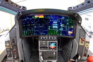 F-35 cockpit display