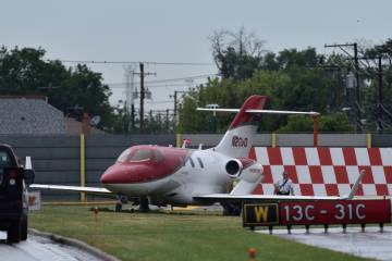 HondaJet HA-420 excursion at MDW