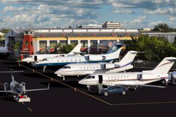 Banyan Air Services is home to some 150 turbine-powered aircraft.