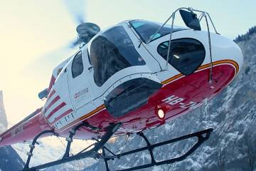 AS350 outfitted with kit