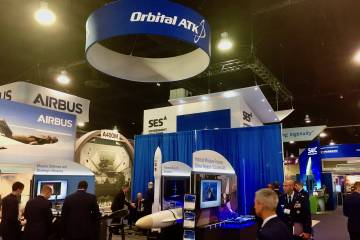 Orbital ATK exhibit