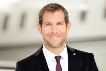 John Riggin v-p and general manager of Jet Aviation Singapore