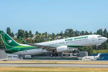 In one new, formerly closed market that Boeing has managed to penetrate, Iraqi Airways took delivery of its first 737-800 in August. The airline has committed to thirty 737NGs and ten 787s, although it does not plan to take its first Dreamliner until after 2020.