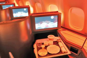 China Airlines interior