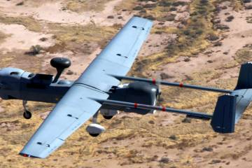 The Northrop Grumman MQ-5 Hunter will be one of a number of unmanned aircraft