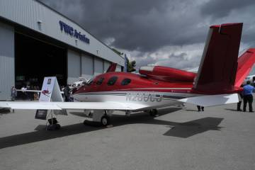 Funding Falls Into Place for Cirrus Jet Certification
