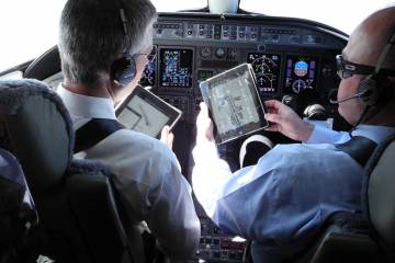 iPads in the cockpit