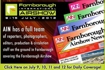 AIN at Farnborough 2012