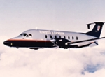 The venerable Beech 1900D still serves as the backbone of the U.S. Essential ...