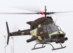 Bell's OH-58 Block II demonstrator made its first flight at Bell's Fort Worth...