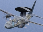 AEW&C C295 has been fitted with a dummy rotodome for flight-testing....