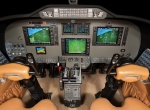 Sierra Industries' Garmin G1000 package replaces the Citation 501/501SP's origin