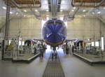 As of July 12 Boeing began using a non-chromated primer and top coat to paint...