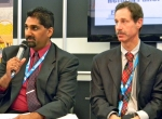 Rizwan Ramakdawala, senior aerospace engineer with the U.S. Defense Technology Security Administration (left), and Donald Beck, defense controls analyst with the State Department directorate of defense trade controls