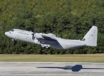 At the Aero India show, Lockheed Martin delivered the first of six C-130Js th...