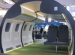 Germany's Diehl built a partial mockup of the RTA interior displayed at this ...