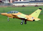 The first production Alenia Aermacchi M-346 made its first flight late last m...