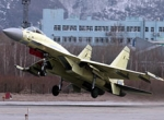 The first production Sukhoi Su-35S made its first flight at Komsomolsk-na-Amu...