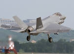 The third F-35C takes off from Lockheed Martin's Fort Worth, Texas, facility ...