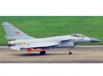 Aircraft 1035 is the first J-10 to be seen with the Chinese WS-10 engine sinc...
