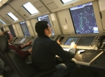 Air traffic controllers at Eurocontrol's Maastricht Upper Area Control Center