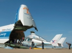 Cargo specialist Volga-Dnepr has found a profitable niche in the transport of all types of helicopters worldwide. Its An-124 and Il-76 aircraft can transport helicopters as large as the Sikorsky CH-53.