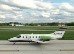 The Williams International FJ44-3AP-powered Beechjet 400XT is here on static ...