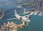 C-27J over Sydney Harbour