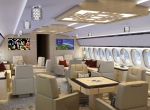Boeing 787 lounge