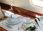 In addition to selling business jets, Boutsen Aviation has an interior cabin design department that offers high-end business jet owners advice about the aesthetics and durability of the linen, crockery and other fine furnishings for their aircraft.