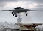 X-47B and carrier