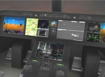 Rockwell Collins Pro Line Fusion-based flight deck of Embraer KC-390 tanker i...